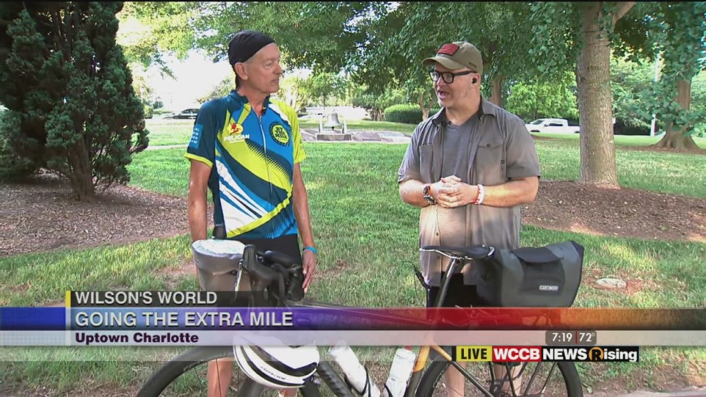 Wilson's World: Going The Extra Mile