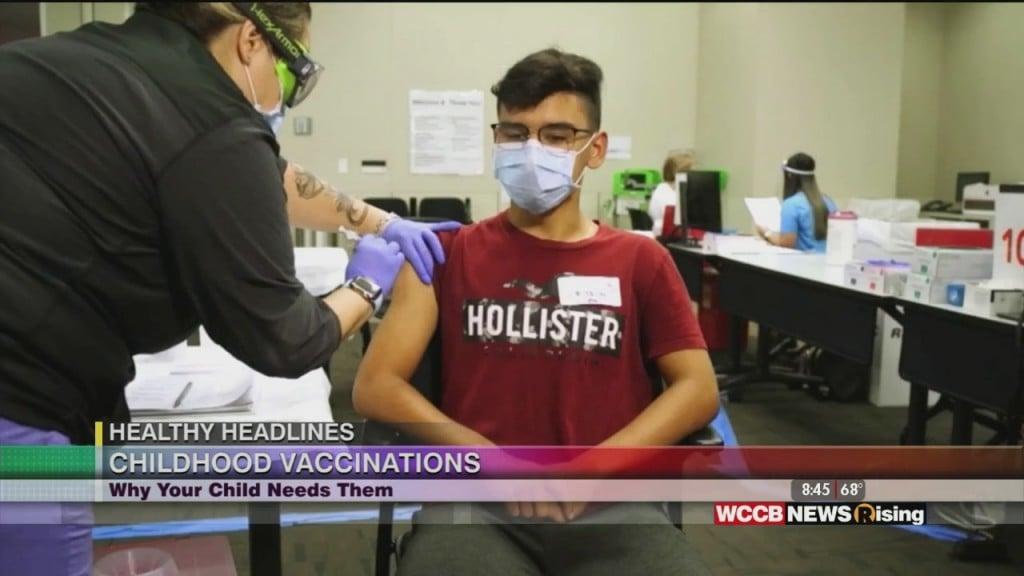 Healthy Headlines: Childhood Vaccinations