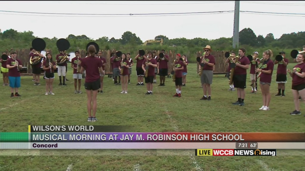 Wilson's World: Jay M. Robinson Band