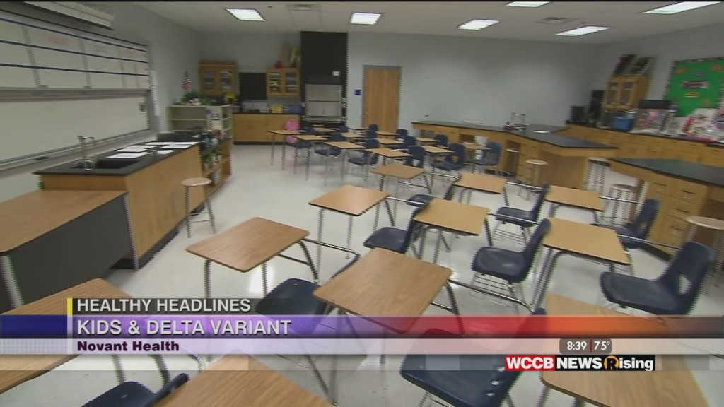 Healthy Headlines: Delta Variant, Kids And Back To School