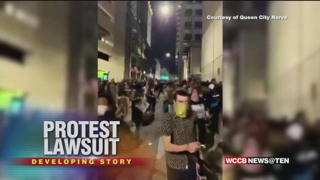 Class Action Lawsuit Filed Against City Of Charlotte & Several Cmpd Officers In Connection Protests Last Year