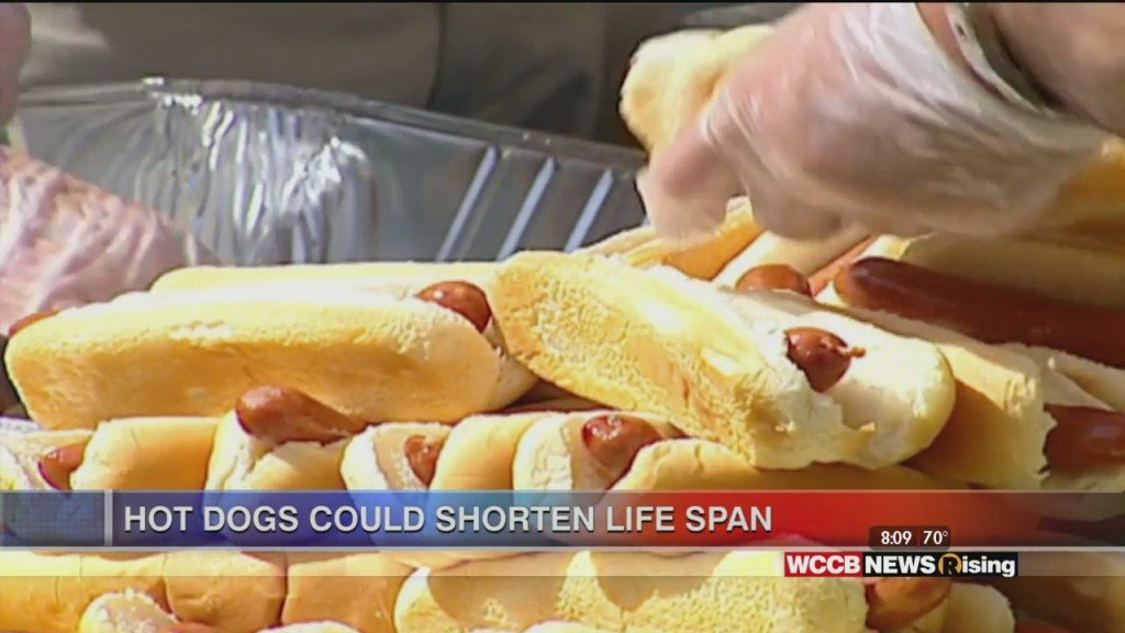 Hot Dogs Could Impact Life Span