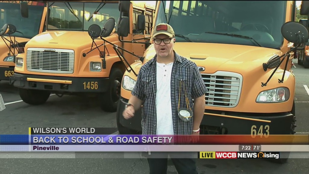 Wilson's World: Cms Bus Safety