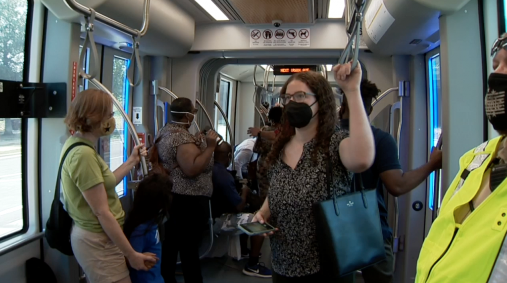 Much Anticipated Extension Of The Gold Line Streetcar Is Officially Up And Running