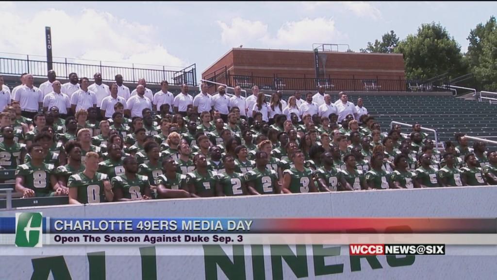 Charlotte 49ers Media Day