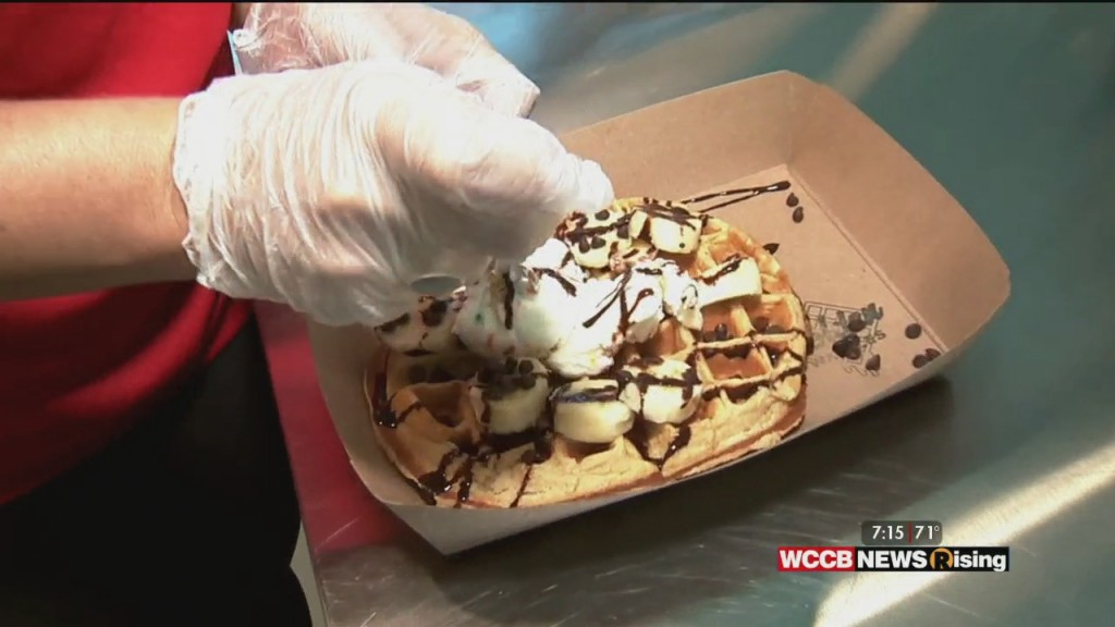 National Waffle Day At Golden Cow Creamery