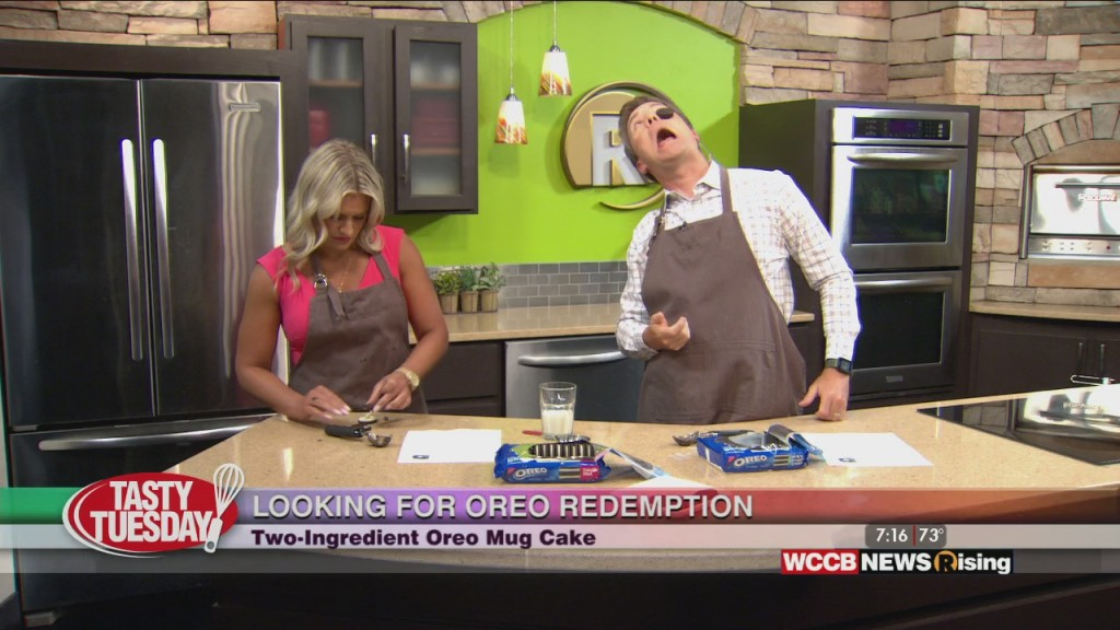 Tasty Tuesday: Two Ingredient Oreo Mug Cake