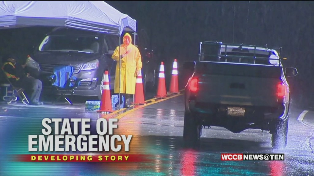 State Of Emergency As Mountain Communities Prepare For Impact From Ida