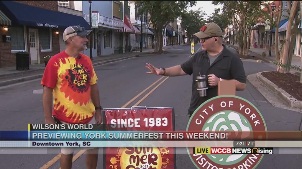 Wilson's World: York Summerfest