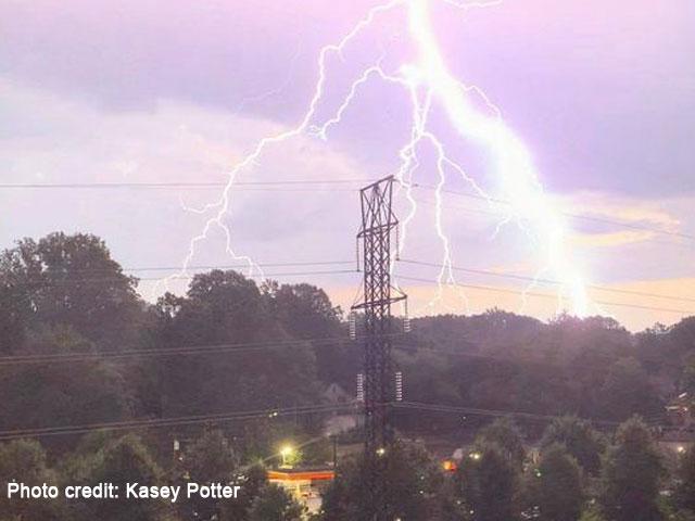 Lightning In Charlotte