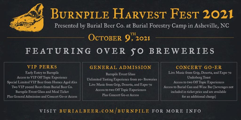 Burnpile Festival Logo