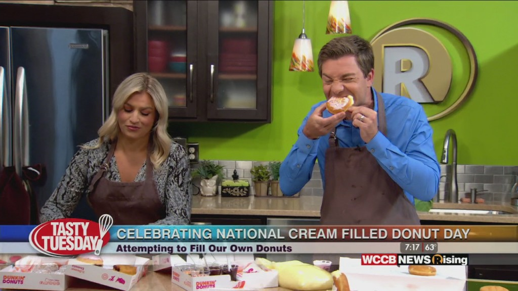 Tasty Tuesday: National Cream Filled Donut Day