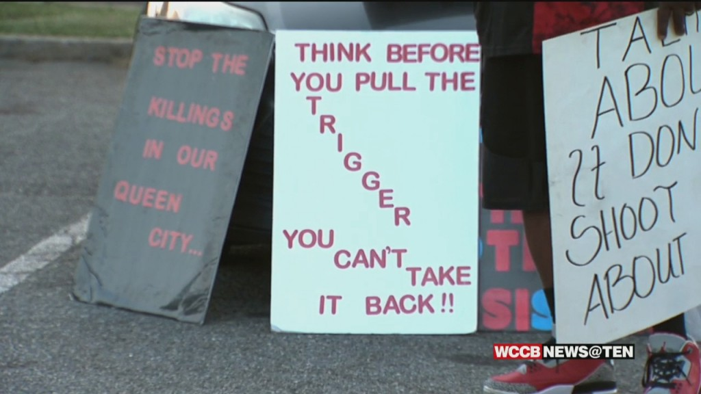 Groups Rally To Stop The Violence Days After Death Of 3 Year Old