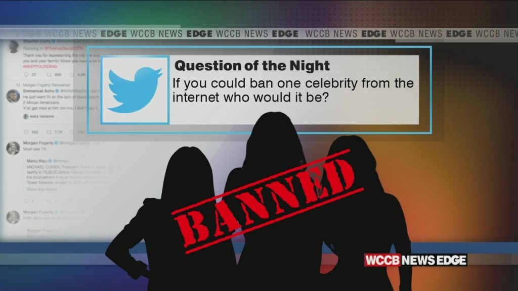 Who Would You Ban From The Internet?