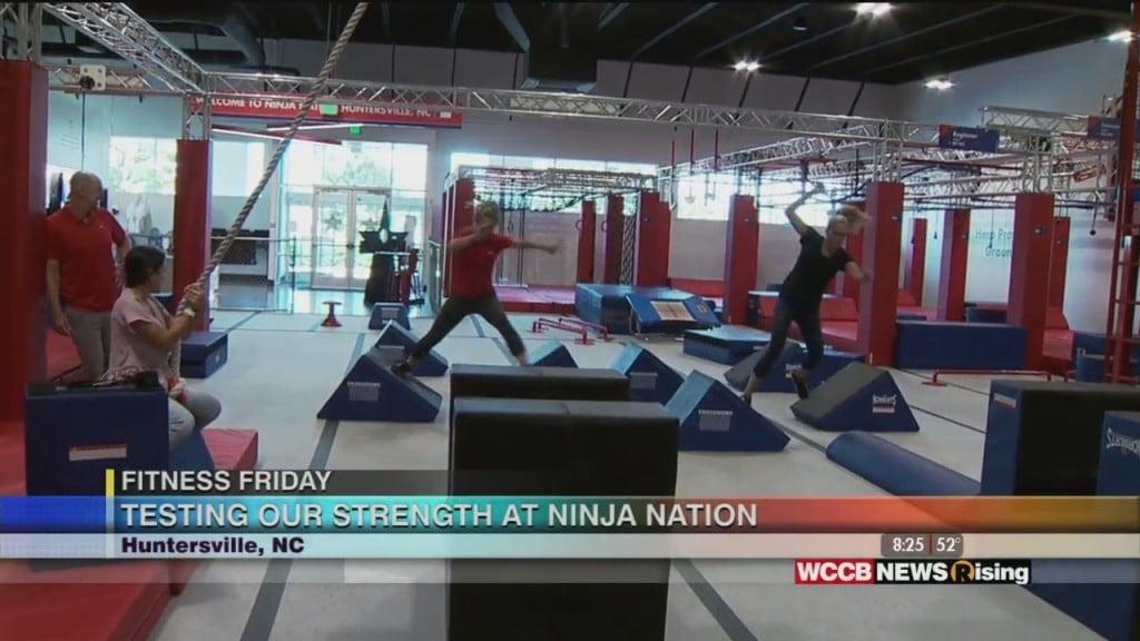 Fitness Friday: Ninja Nation Huntersville