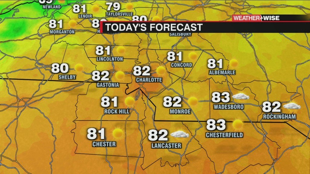 Humidity Gone, Long Stretch Of Dry Weather Takes Hold