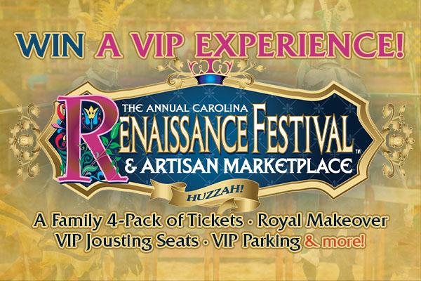 Carolina Renaissance Festival 2021 Contest Feature Image