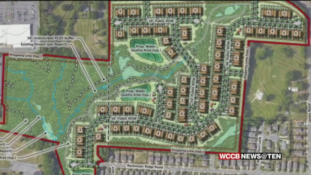 East Charlotte Residents Concerned About Hundreds Of Proposed Townhomes Near Their Property