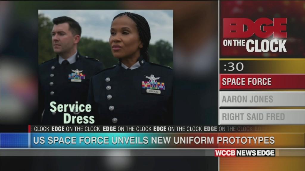 Space Force Unveils New Uniforms