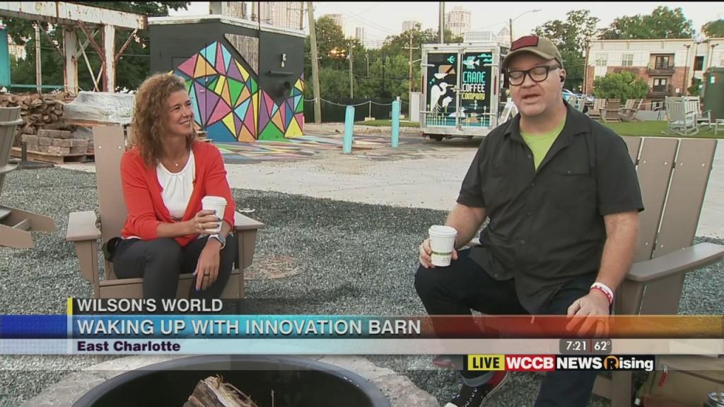 Wilson's World: Innovative Barn