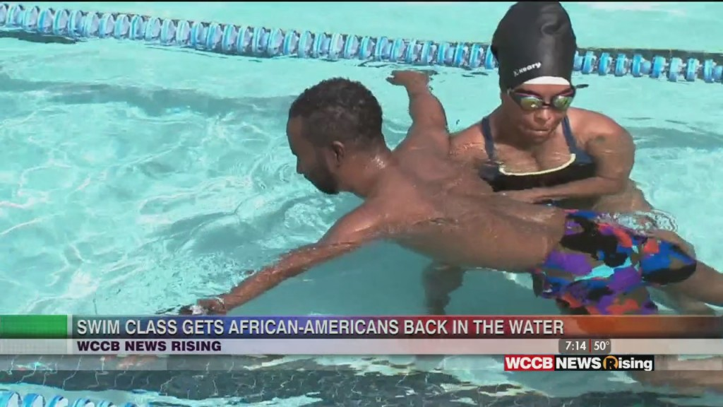 African Americans Learn To Swim