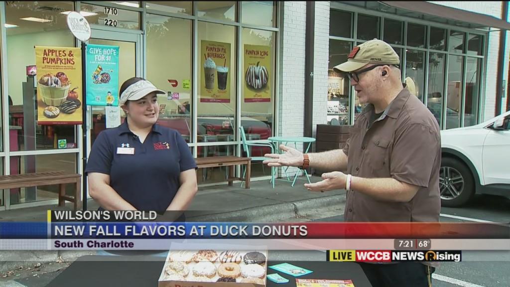 Wilson's World: Duck Donuts