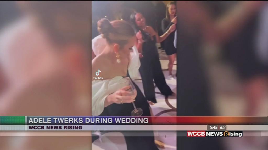 Singer Adele Twerks At Wedding