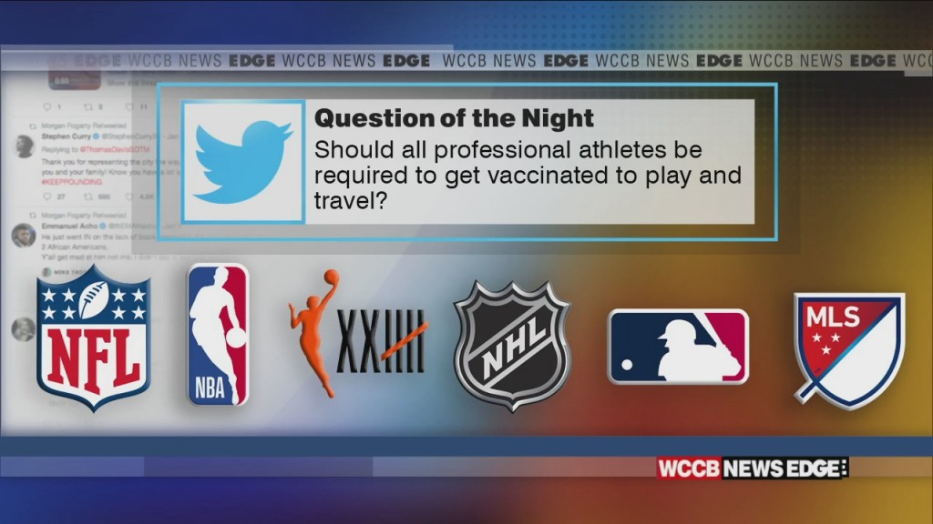 Should Pro Athletes Be Required To Be Vaccinated?