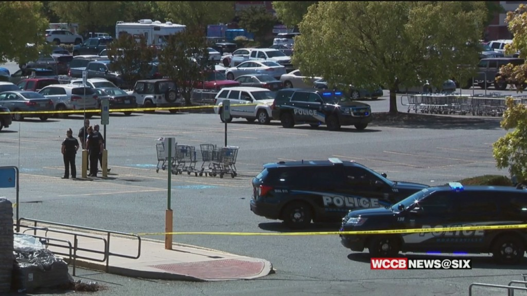Suspect In Custody After Shooting At Mooresville Walmart