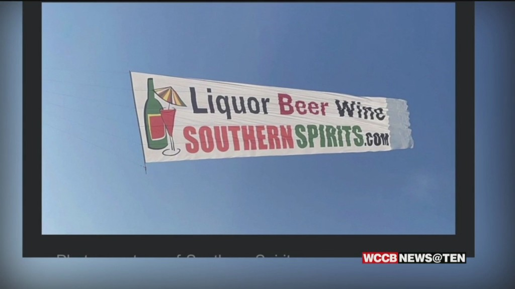 Growing Complaints In Matthews Over A Plane Advertising An Alcohol Store In Fort Mill