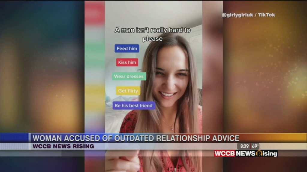 Woman Gives Relationship Advice