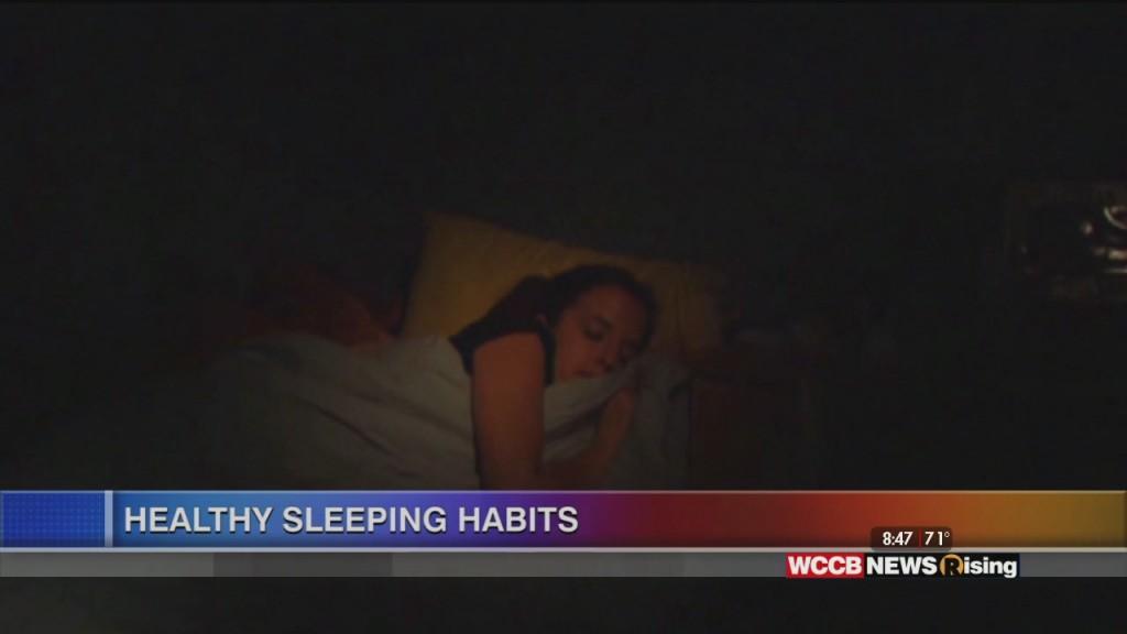 Healthy Headlines: Healthy Sleep Habits