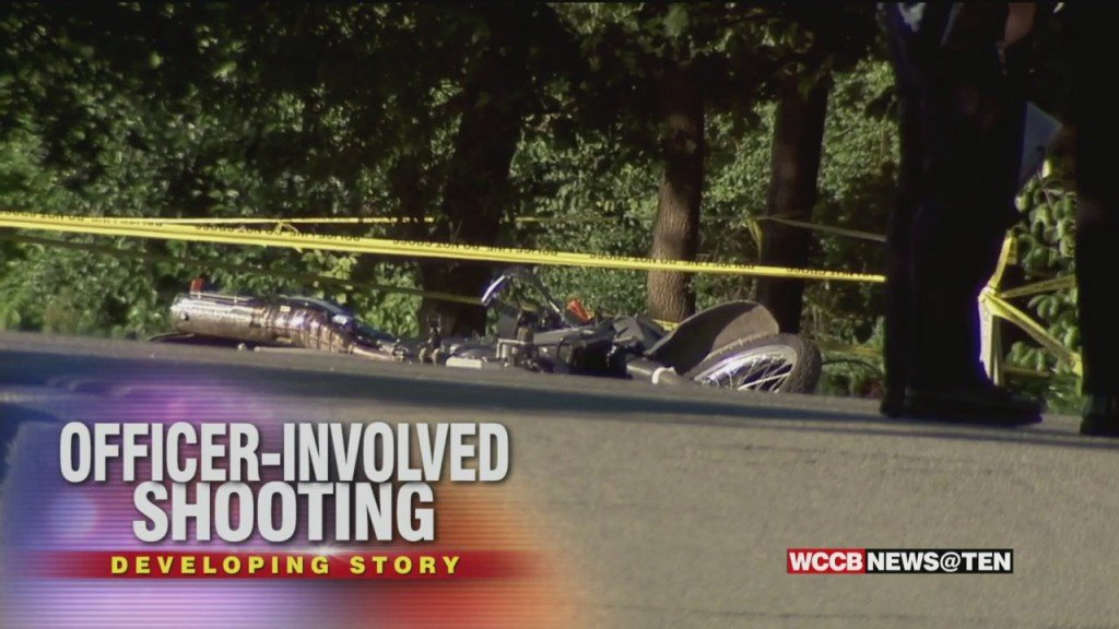 Officer Involved Shooting In Charlotte