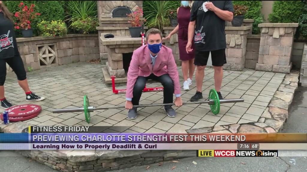 Fitness Friday: Charlotte Strength Fest