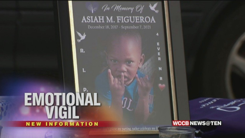 Vigil Held For 3 Year Old Killed When 150 Shots Fired Into His Home