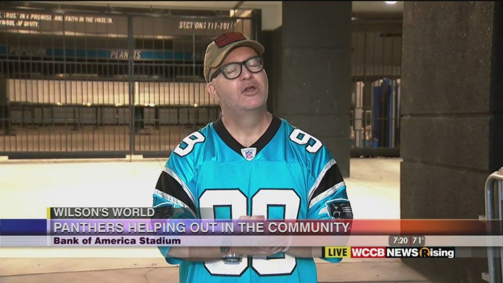 Wilson's World: Panthers In Community