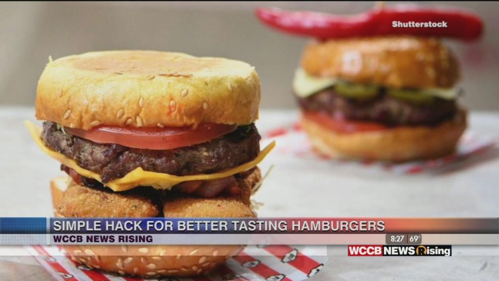 Hamburger Hack Makes Burgers Taste Better