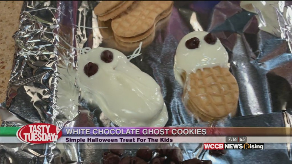 Tasty Tuesday: Ghost Cookies