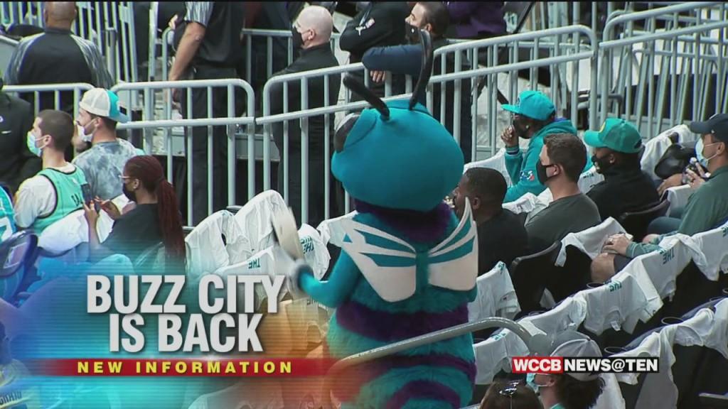 Buzz Returns For Hornets Home Opener; Spectrum Center At Full Capacity