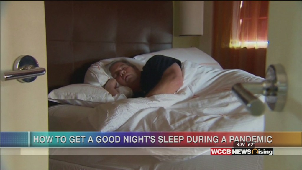 Healthy Headlines: How To Get A Good Night's Sleep During A Pandemic
