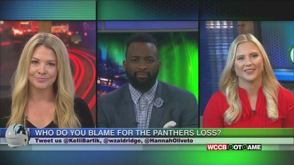 Got Game: Who Do You Blame For The Panthers Loss?