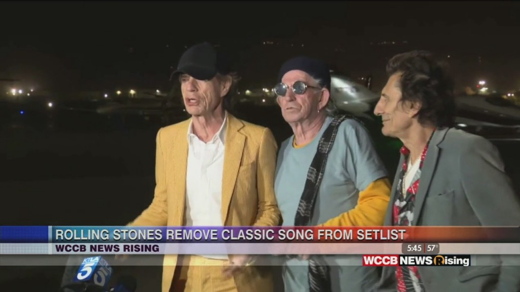 "Rolling Stones No Longer Performing ""brown Sugar"""