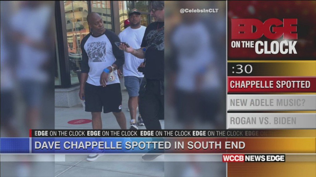 Edge On The Clock: Dave Chappelle Spotted In South End