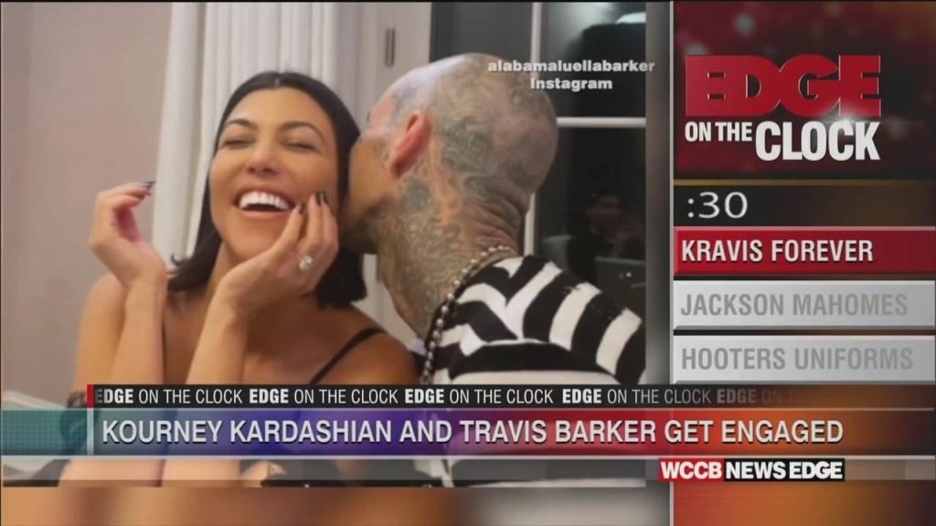 Edge On The Clock: Kourtney Kardashian Is Engaged