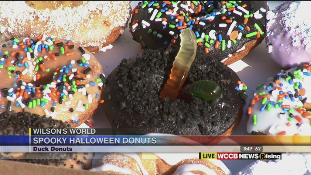 Wilson's World: Spooky Donuts