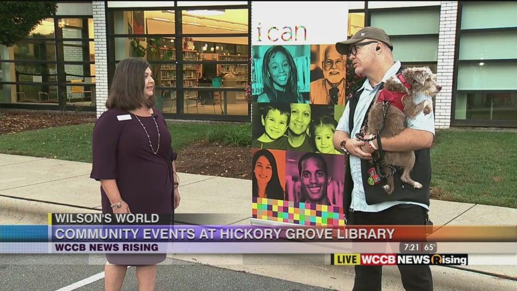 Wilson's World: Community Events