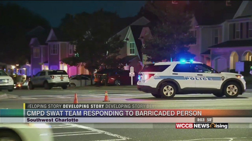 Cmpd Swat Team Responding To Barricaded Person In Southwest Charlotte