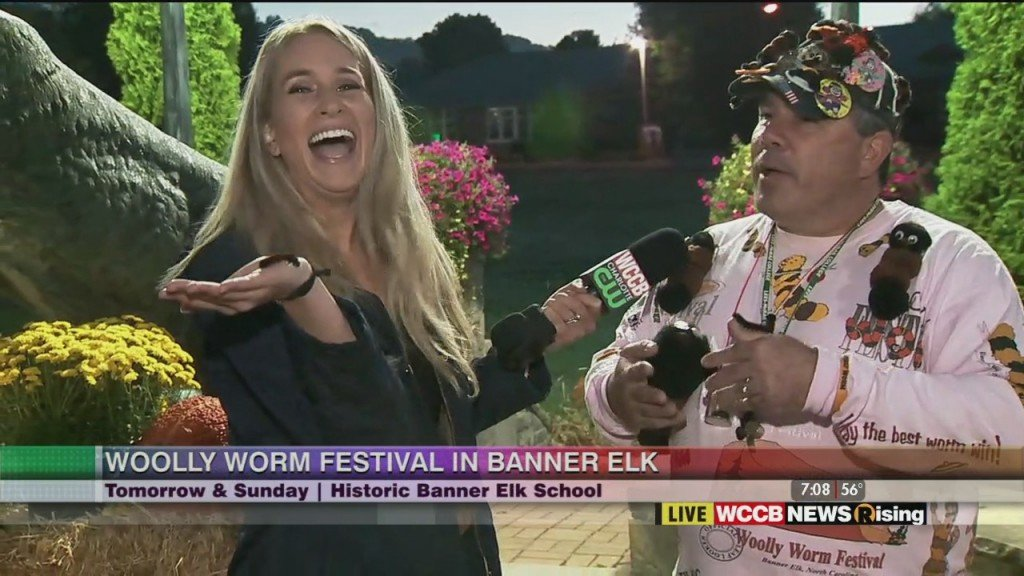 Previewing The Woolly Worm Festival