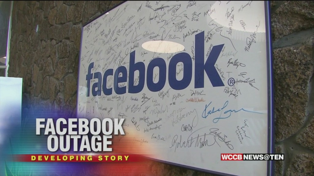 Local Businesses See Impact From Facebook Outage