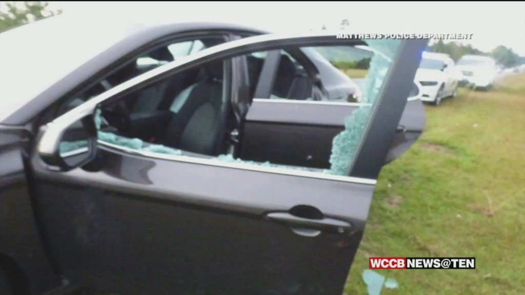 Shots Fired Into Car On I 485 During Tuesday Morning Commute